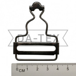 40 mm overalls clasp black...