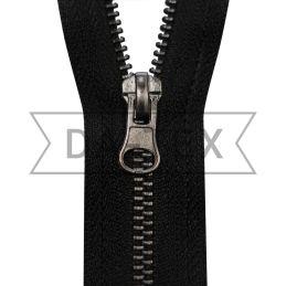 18 cm Metal zipper N.5 black