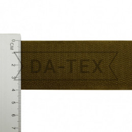 40 mm Hook tape 100% PE khaki