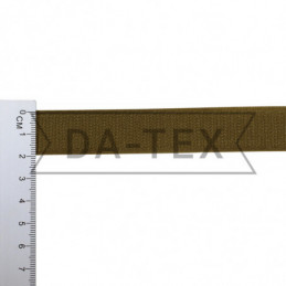 20 mm Hook tape 100% PE khaki