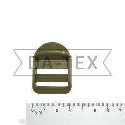 25 мм Пряжка пластикова хакі