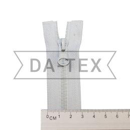 50 cm Plastic zipper N.5 white