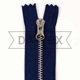 18 cm Metal zipper N.4 nikel
