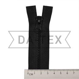 50 cm Plastic zipper N.5 black