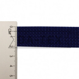20 mm PP tape 10 g/m dark blue