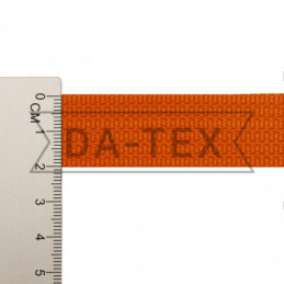 20 mm PP tape 10 g/m orange