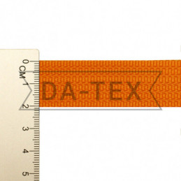 20 mm PP tape 10 g/m orange...