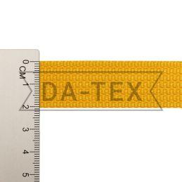 20 mm PP tape 10 g/m yellow