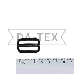25 mm Plastic buckle black