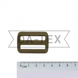 32 mm Plastic buckle khaki