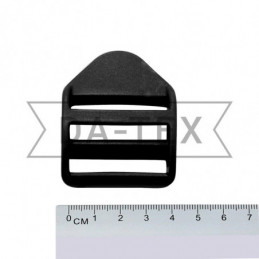 38 mm Plastic buckle black