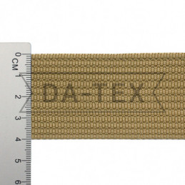 40 mm PP tape 18 g/m beige