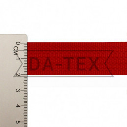 20 mm PP tape 10 g/m red