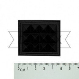 30x40 мм Пукля сумочная чорний