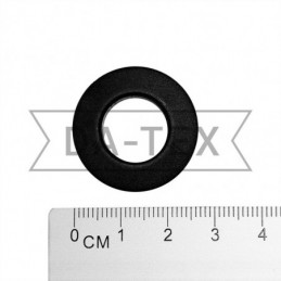 14x26 mm Plastic eyelet black