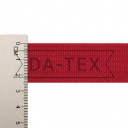 25 mm PP tape 12 g/m red