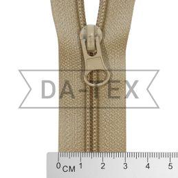 50 cm Nylon zipper N.5 beige