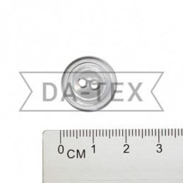 17 mm Button transparent