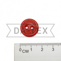17 mm Button red