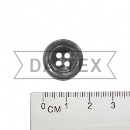 17 mm Button grey