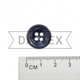 17 mm Button dark blue