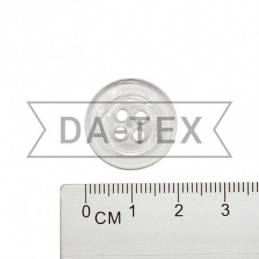 20 mm Button transparent