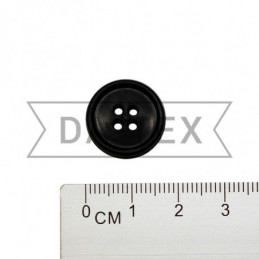 20 mm Button black