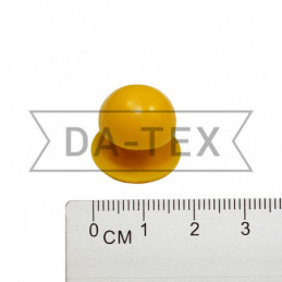 Chef jacket button yellow