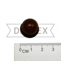 Chef jacket button brown