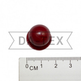 Chef jacket button bordeaux