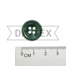 17 mm Button dark green