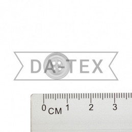 11 mm Shirt button transparent
