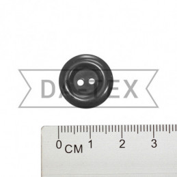 17 mm Button EUROSTANDART grey