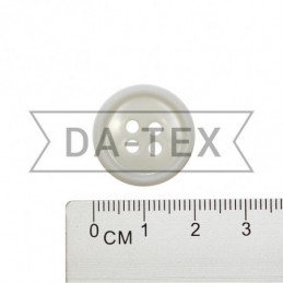 20 mm Button white