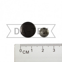 14 mm Jeans button black...