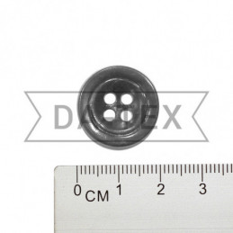 20 mm Button grey