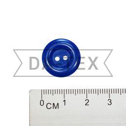 17 mm Button bright blue
