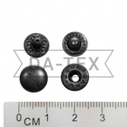 12,5 mm snap button W-style...