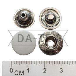 15 мм кнопка АЛЬФА нікель...