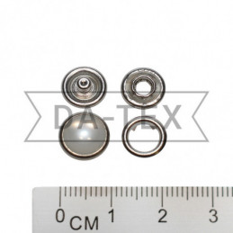 9,5 mm snap pearl button nikel