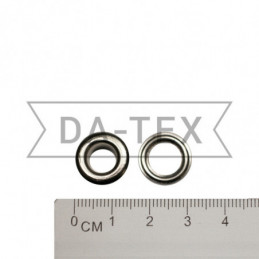 8 mm Eyelet N.5 + washer nikel