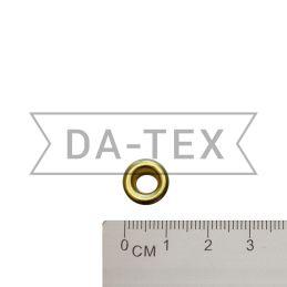 5,8х9,7 mm Eyelet N.3 gold