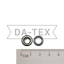 5,8x9,7 мм Люверс N.3 нікель