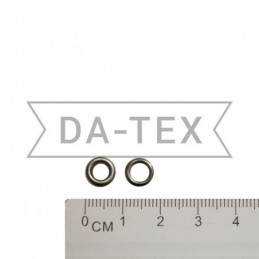 4 mm Eyelet N.2 + washer nikel