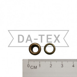 4 mm Eyelet N.2 + washer antik
