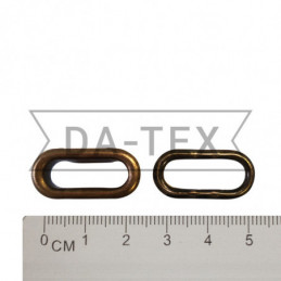 17 mm Oval Eyelet + washer...