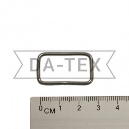 25x13 mm Metal frame nikel