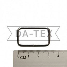 30x10 mm Metal frame nikel