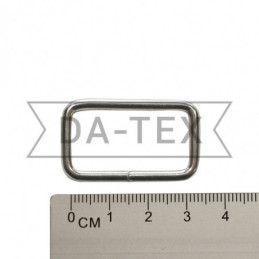 30x15 mm Metal frame nikel
