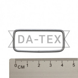 40x15 mm Metal frame nikel